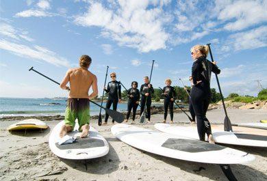 best spots to paddle board near ogunquit maine