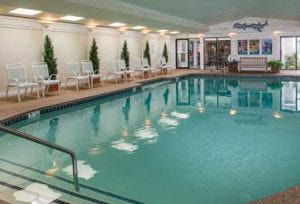 Meadowmere Resort indoor pool